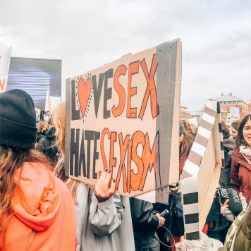"""Love sex, hate sexism."""